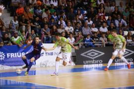 El Palma Futsal se marcha de la Copa del Rey con la cabeza alta