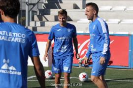Julio Delgado, a punto para reaparecer tras su lesión: «Las sensaciones tras el entreno con el grupo son buenas»