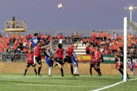 El Formentera planta cara y empata a un gol ante el Athletic Club