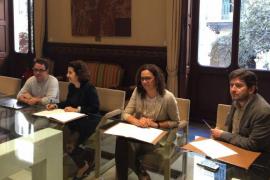 El Govern y Podemos firman un acuerdo para aprobar los presupuestos de 2018