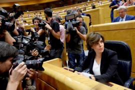 Santamaría defiende «rescatar» Cataluña de quienes la quieren fuera de la ley