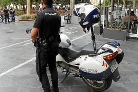 Detenida en Palma por exigir de un banco dinero que no tenía