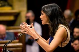 Arrimadas reprocha a Puigdemont que desoiga el «clamor» por unas elecciones