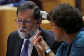 Rajoy pide tranquilidad y dice que se restaurará la legalidad en Cataluña