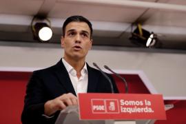 Sánchez dice que la unión entre españoles prevalecerá pese al intento de secesión