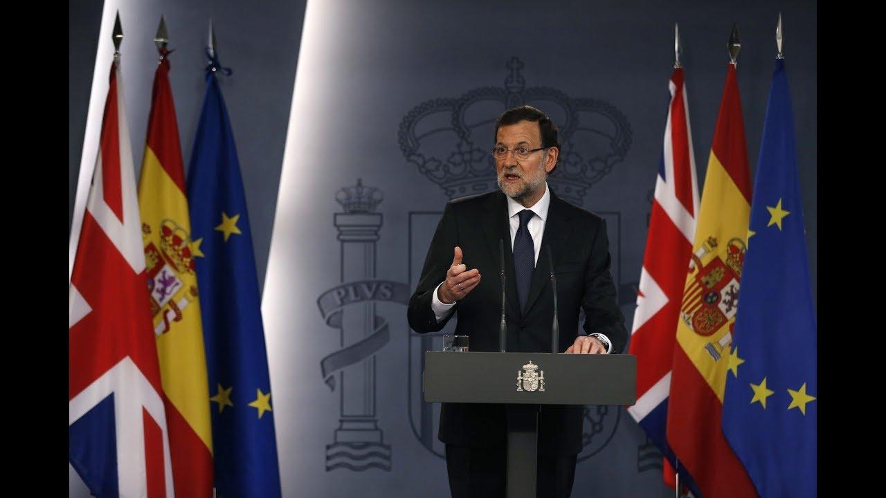 Rajoy convoca elecciones en Cataluña para el 21 de diciembre