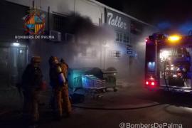 Incendio en un restaurante en Son Castelló