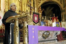 La procesión de los Estendards, punto de partida de la Semana Santa en Palma