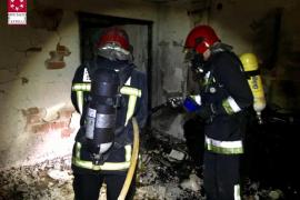 2 muertos y 9 heridos en el incendio de una vivienda de Burriana, Castellón