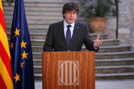 Puigdemont no se da por cesado y llama a la «oposición pacífica»