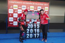 Pakita Ruiz, campeona de España de motociclismo en categoría Open600