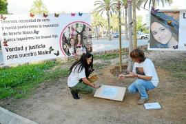 Un centenar de personas recuerda a Malén Ortiz: «Hoy cumples 19 años»