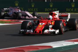 Vettel logra su 'pole' 50 en México, donde Hamilton saldrá tercero
