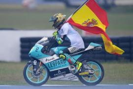 Joan Mir se adjudica la victoria en Sepang, décima de la temporada para el campeón de Moto3