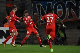 Brandon debuta en liga con el Rennes anontando un gol decisivo