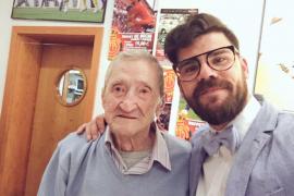 Fallece Andreu 'en Mallorqueta', el aficionado más veterano del Mallorca