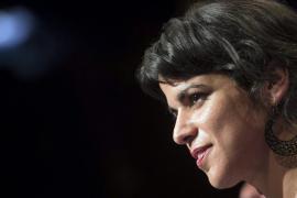 """Teresa Rodríguez """"se desmarca"""" del reconocimiento de la República catalana"""