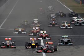 Victoria de Hamilton por delante de Vettel, Alonso séptimo