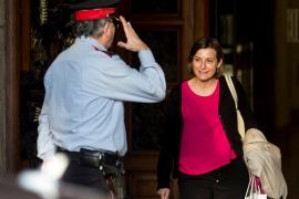 Forcadell y la Mesa del Parlament declararán el próximo 2 y 3 de noviembre