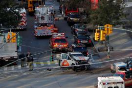 Las autoridades califican de atentado el atropello que ha causado ocho muertos en Manhattan