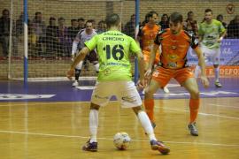 El Palma Futsal saca un punto del Ciudad de Tudela
