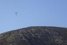 Un incendio en la localidad de Capdepera quema más de 20 hectáreas