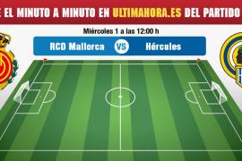 Real Mallorca-Hércules, en directo