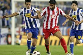 Osvaldo empata el pulso por Europa en Cornellá