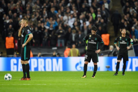 El Tottenham castiga a un apático Real Madrid