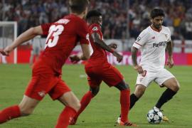 El Sevilla se acerca a los octavos