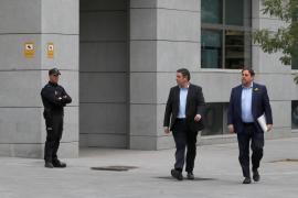 Los miembros del Govern cesado declaran en la Audiencia Nacional