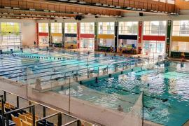 La piscina interior de Son Hugo retoma su actividad