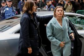 Forcadell tacha de «indecente e injusta» la encarcelación de los miembros del Govern
