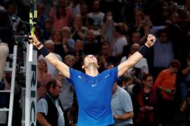 Nadal se impone a Cuevas y se medirá a Krajinovic en los cuartos de final de París