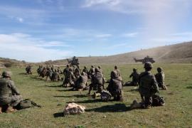 Efectivos del Regimiento Jaime II parten para una misión en Mauritania