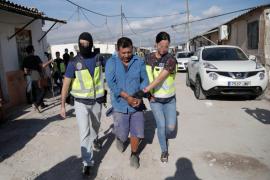 Al menos 5 detenidos en la macroperación contra la droga en Son Banya