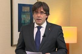 Puigdemont afirma que no ha huido y que está dispuesto a ser candidato de cara al 21D