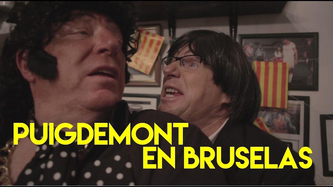 Los Morancos parodian el viaje de Puigdemont a Bruselas