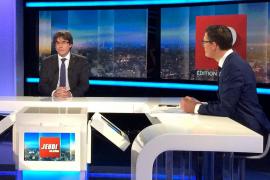 Puigdemont llama a formar una lista unitaria de las fuerzas independentistas
