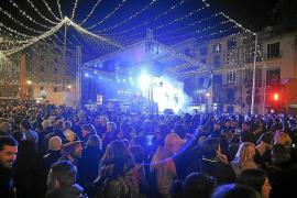 El Ajuntament de Palma celebrará la Nochevieja en dos escenarios, en Cort y en el Born
