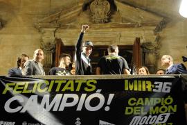 Palma celebra el título mundial de Joan Mir, «un orgullo» para Mallorca
