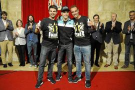 Joan Mir celebra su título en Mallorca