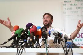 Dimite el secretario general de Podemos en Cataluña y deja el partido
