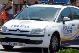 Detenido por dar dos puñetazos a su mujer y refugiarse en un bar de Palma