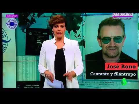 La Sexta confunde al cantante de U2 con José Bono