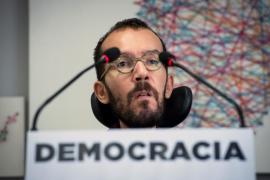 Echenique defiende la «intervención» en Podemos Cataluña como «limpieza democrática»