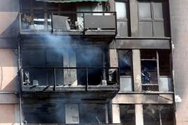 Muere el joven gravemente quemado en un incendio en Barcelona