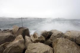 Semana de precipitaciones e intervalos de viento fuerte en Baleares