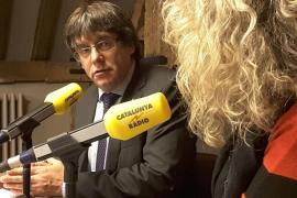 Puigdemont: «No me gusta estar aquí, yo querría estar en la Generalitat»