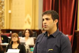 Josep Ferrà promete su cargo como diputado de MÉS per Mallorca